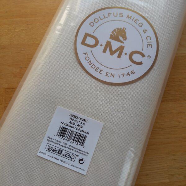 DMC-DM222-ECRU AIDA fabric
